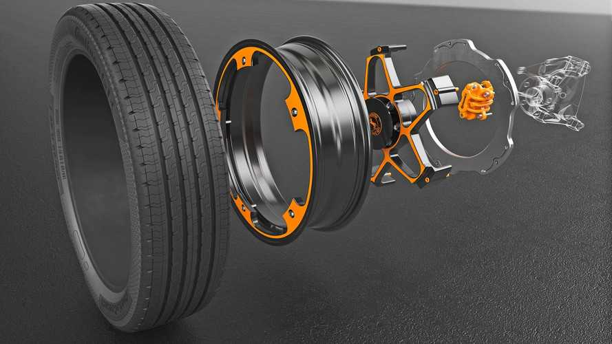 Continental Reinvents The EV Wheel
