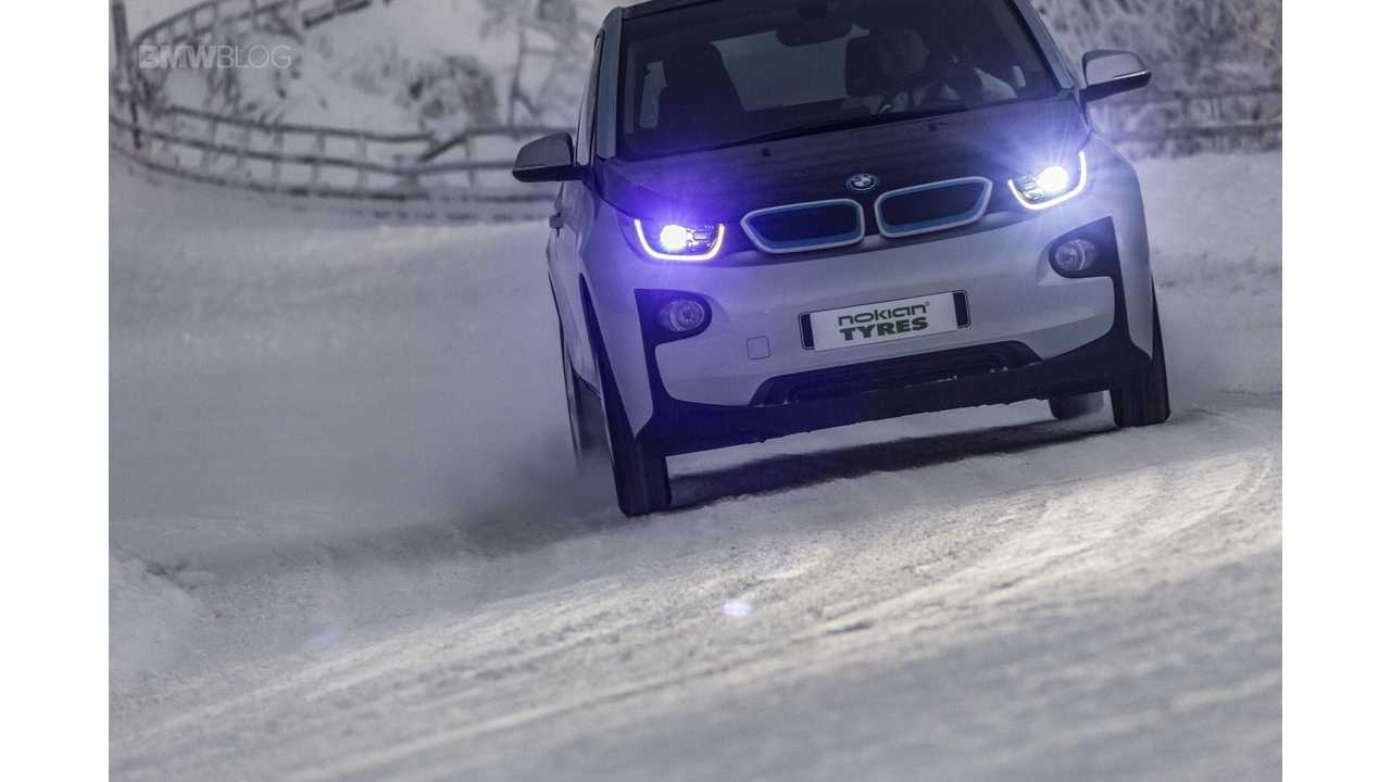 Nokian Hakkapeliitta R2 >> BMW i3 Winter Tire Review: Bridgestone Blizzak LM-500 vs ...
