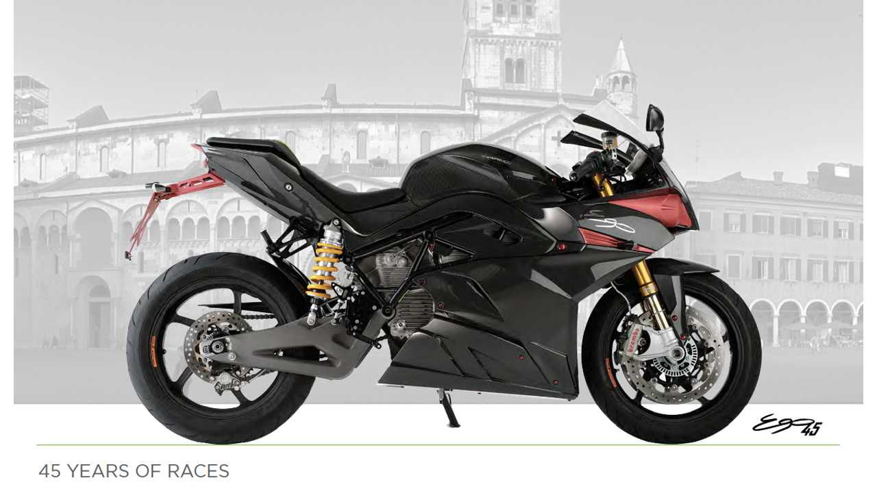 Energica Catalog, History, Complete Specs Posted