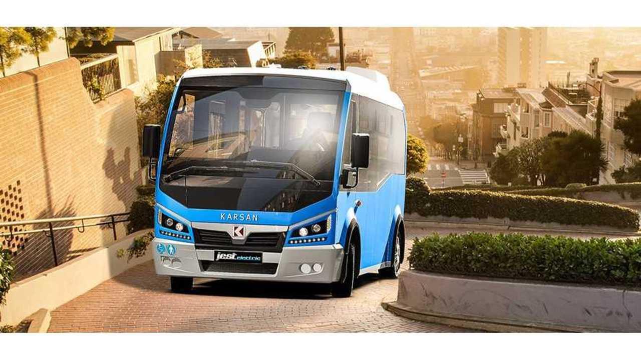 Karsan Jest Electric Is Powered By BMW i