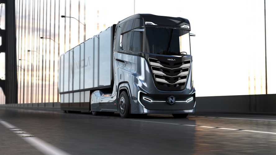 Nikola Presents European Version Of Hydrogen Fuel Cell Truck