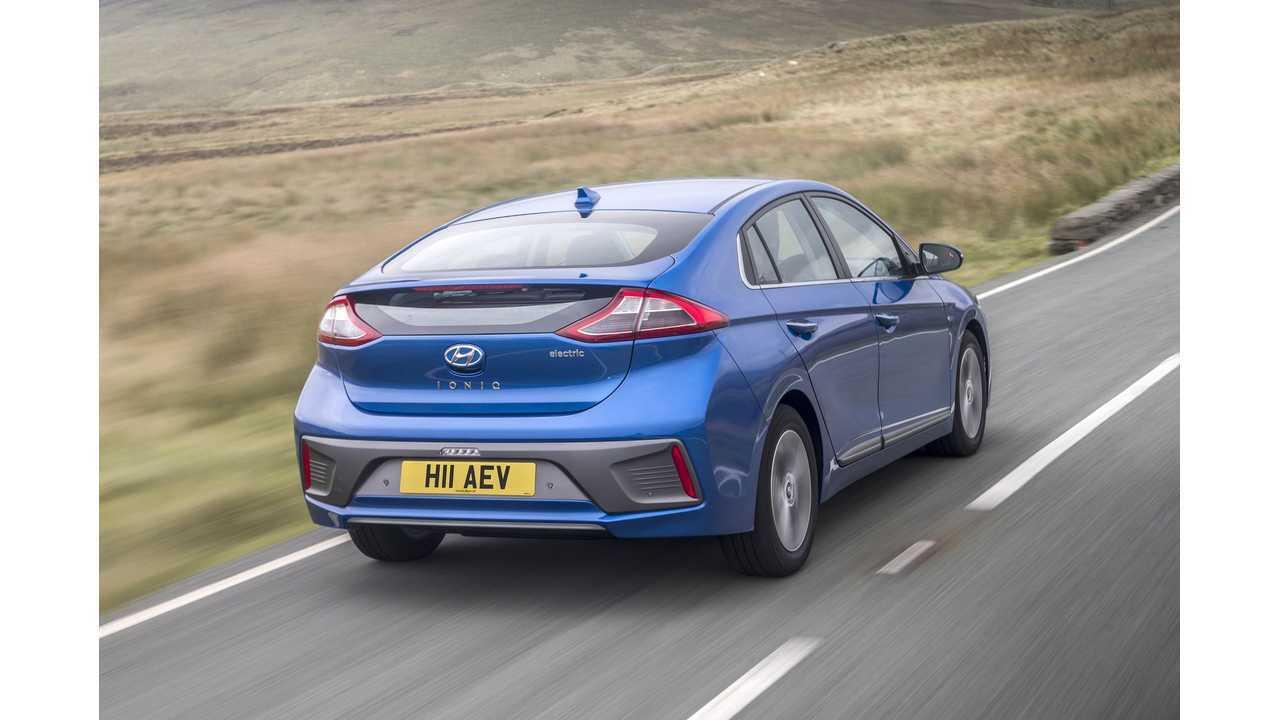 Hyundai IONIQ Electric In Marina Blue