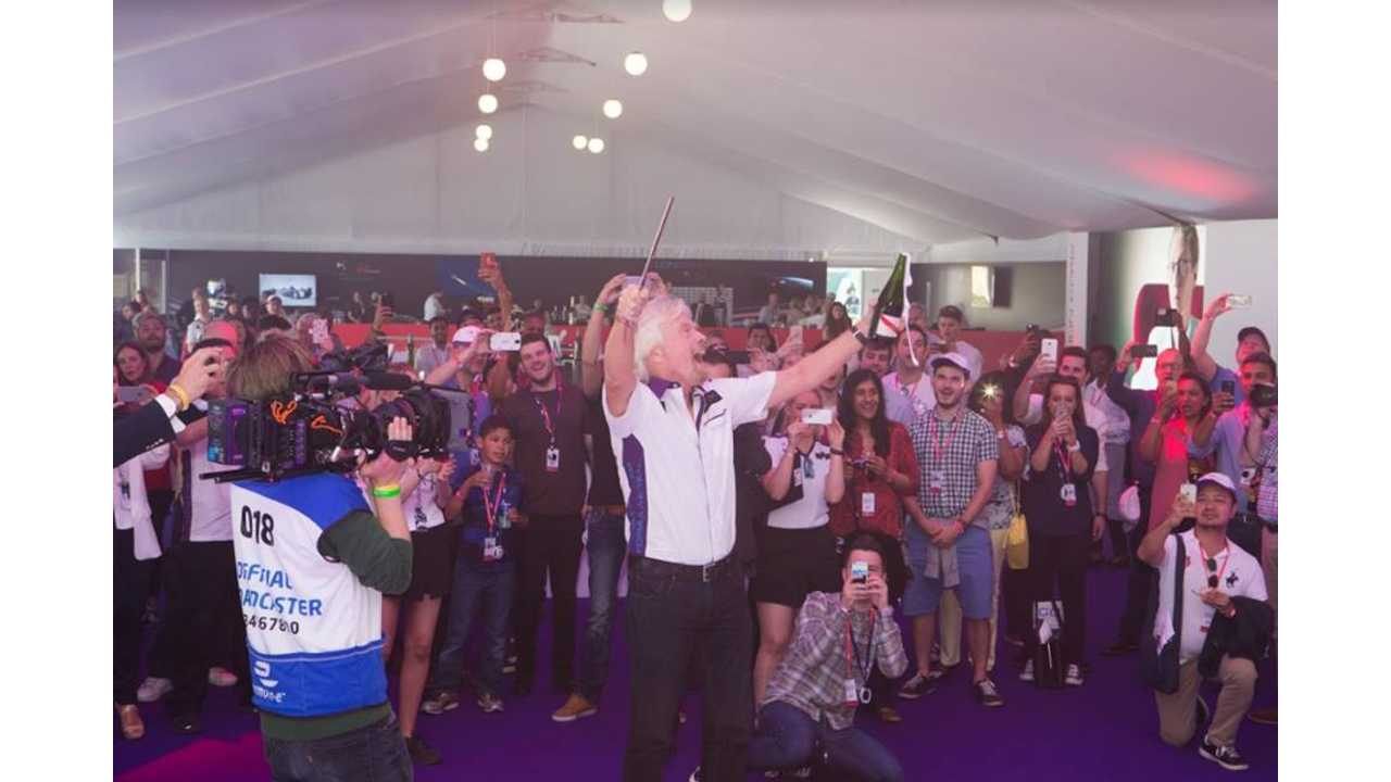 Virgin Group founder Sir Richard Branson insists he'll be doing more than watching from the sidelines when he attends the forthcoming Formula E race in New York City, in support of his DS Virgin Racing team.