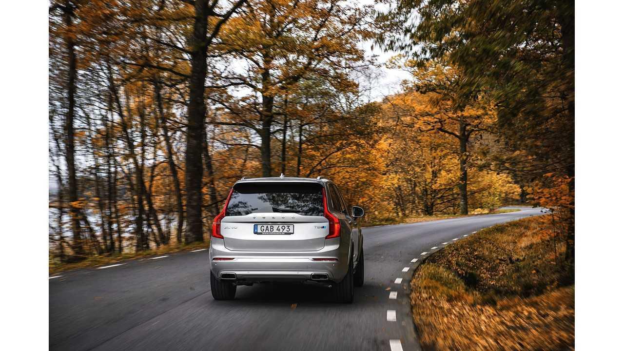 Volvo XC90 T8 Twin Engine with Polestar Performance Optimization