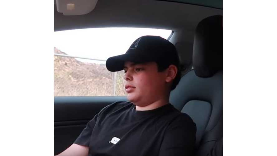 14-Year-Old Takes Delivery Of Tesla Model 3 - Video