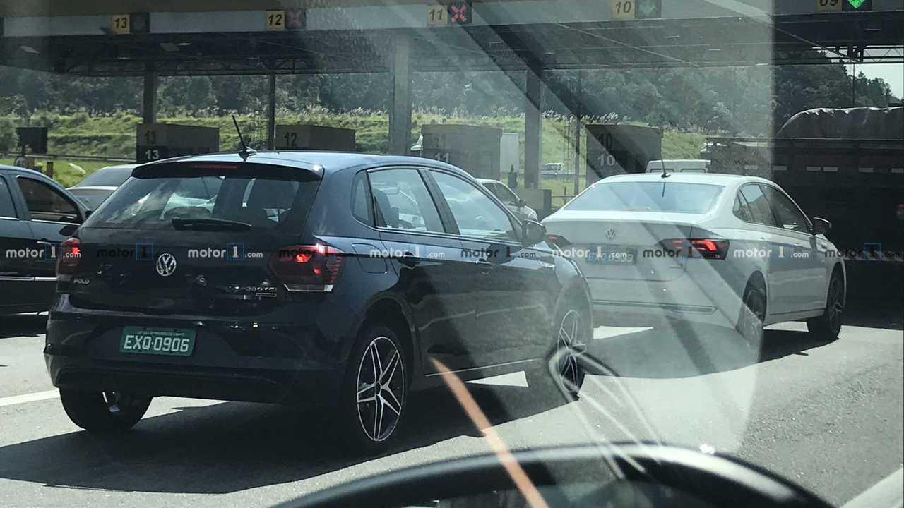 Flagra: VW Polo e Virtus GTS em testes