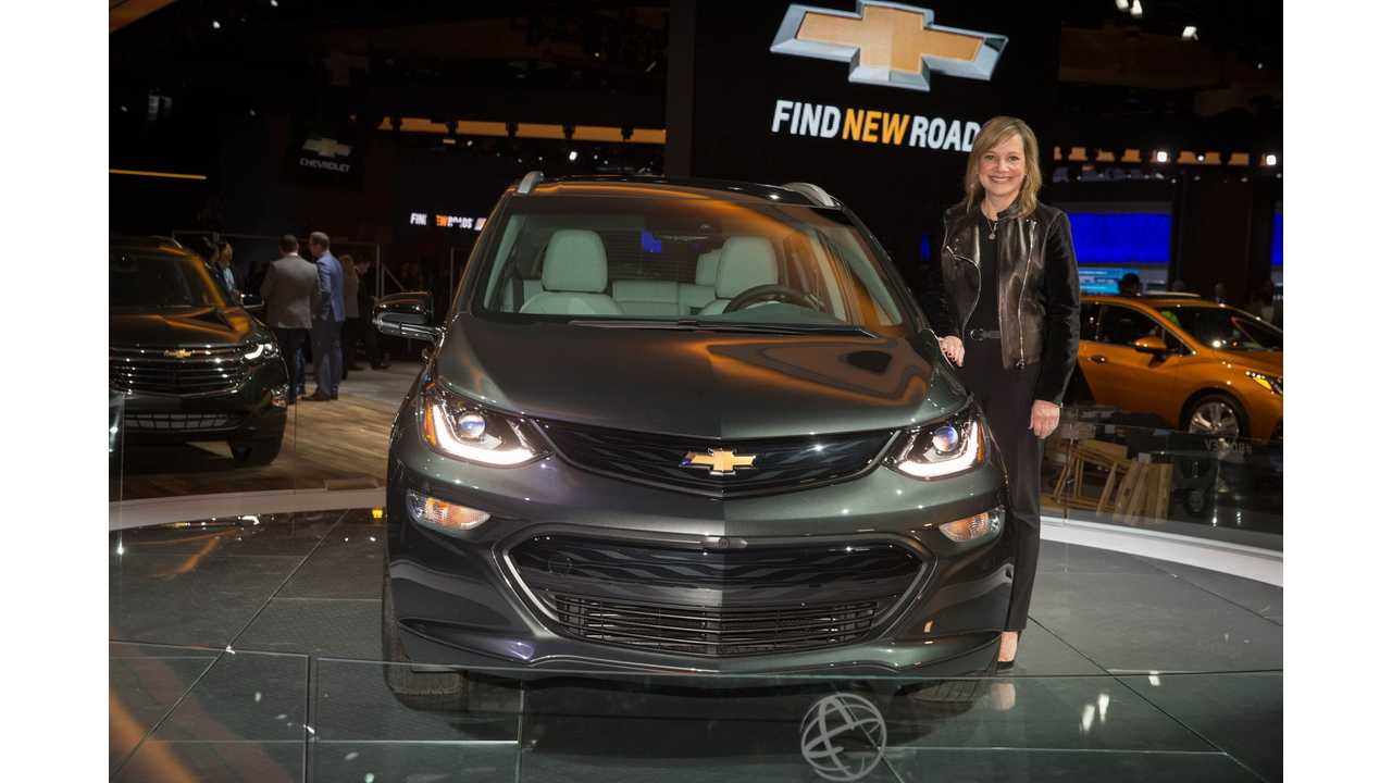 GM CEO Courts Harvard Students With EVs, AVs And Electric Trucks
