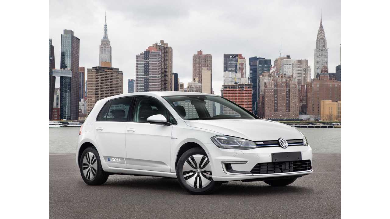 volkswagen  golf  ford focus electric comparison range test video