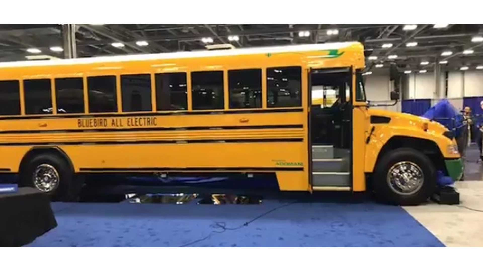 Bluebird School Bus >> Blue Bird Vision Electric Type C School Buses Available