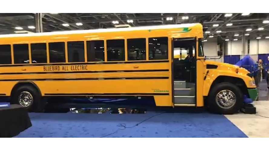 Blue Bird Vision Electric Type C School Buses - Available From Next Year