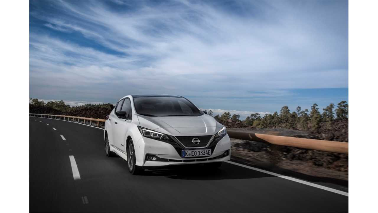 8) Nissan LEAF