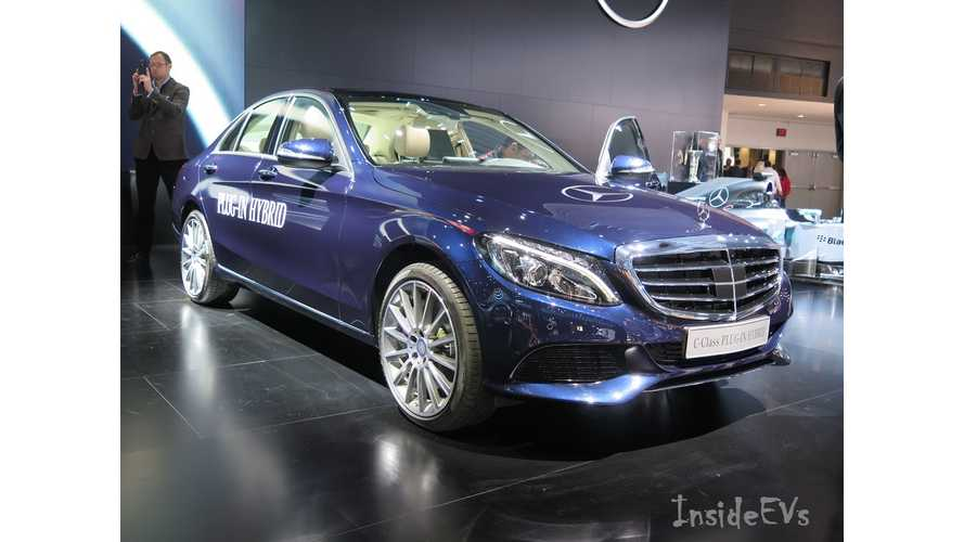 Mercedes-Benz C350 Plug-In Hybrid - Images From 2015 NAIAS