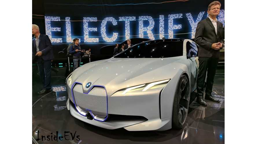 BMW i4 Electric Range To Be *340 to 435 Miles