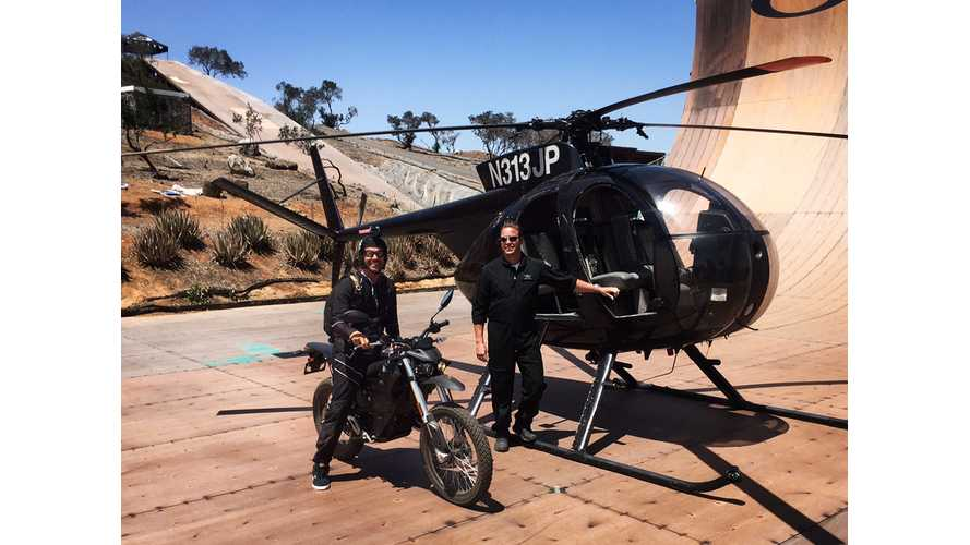 Zero Motorcycles: Bob Burnquist Gets New Toy, We Get to Watch Him Play
