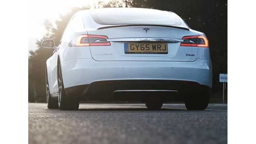 Top Gear Tests Acceleration Of Tesla Model S P90DL