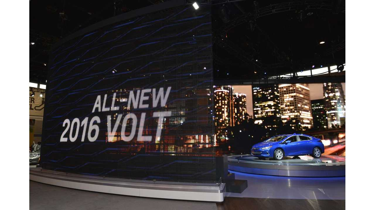 Gm Officially Announce Epa Range Ratings For The 2016 Chevrolet Volt At 53 Miles Says