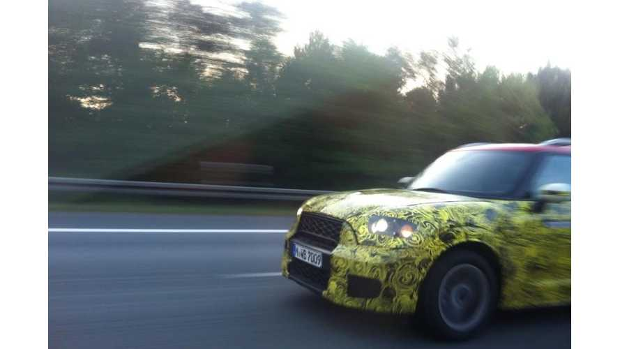 Spy Shots Of Mini Countryman Plug-In Hybrid