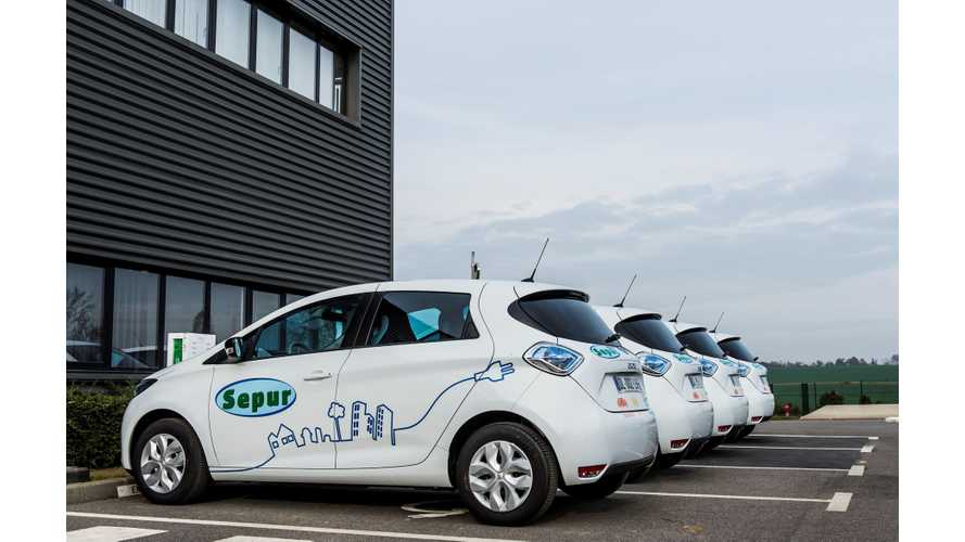 SEPUR Going All-Electric With Renault ZOE