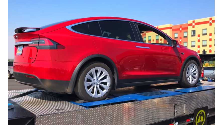 Tesla Model X 90D Hits The Dyno - Video