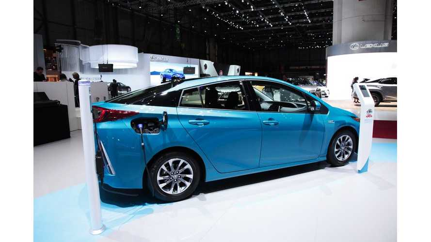 World EV Sales June 2017: Toyota Prius Prime Now Best Selling Plug-In