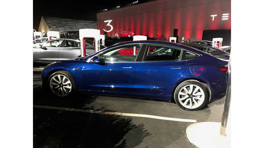 Tesla Model 3 S-Curve Now Crystal Clear ...