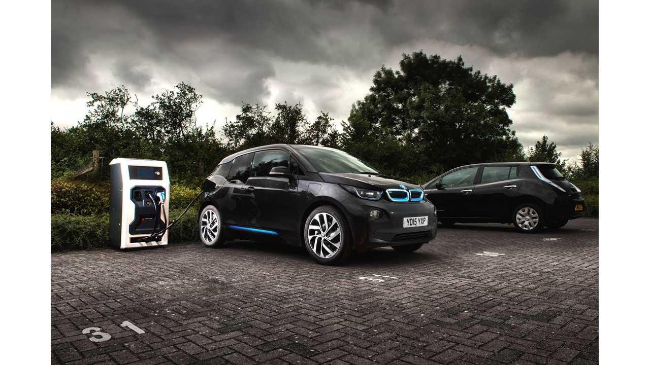 Chargemaster Ultracharger and BMW i3