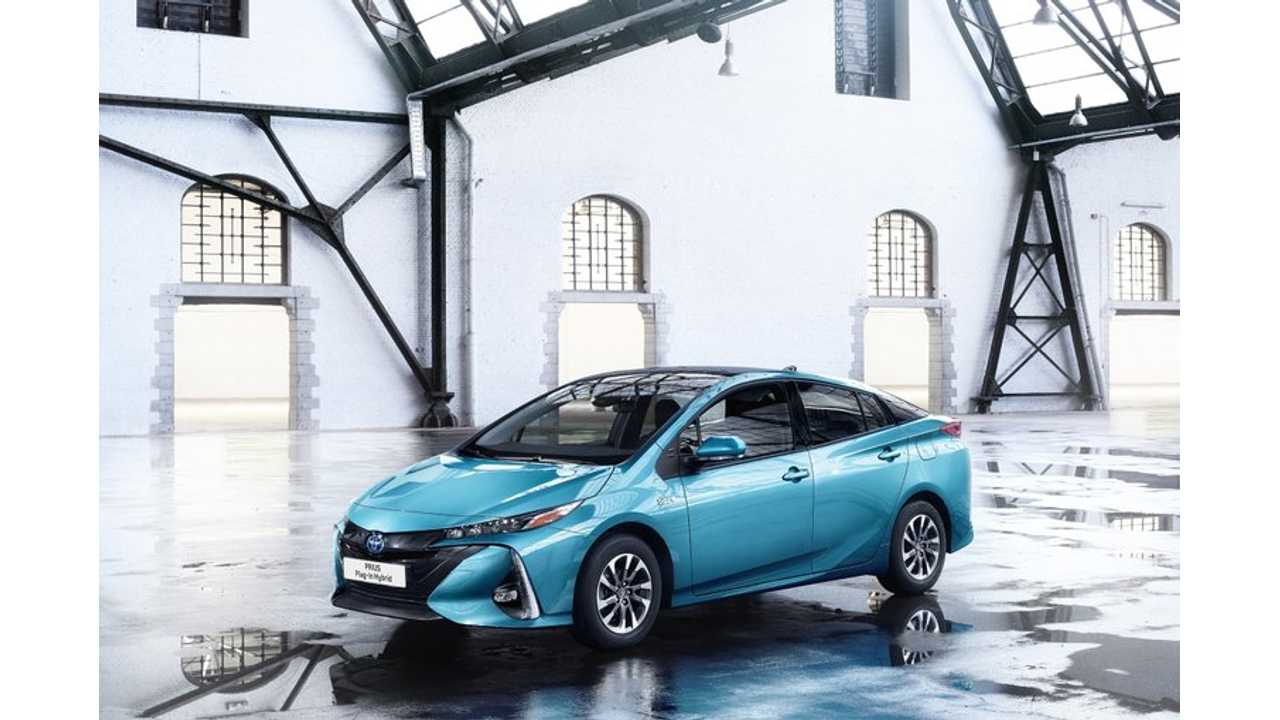 Toyota Prius Plug-In at the 2017 Geneva Motor Show