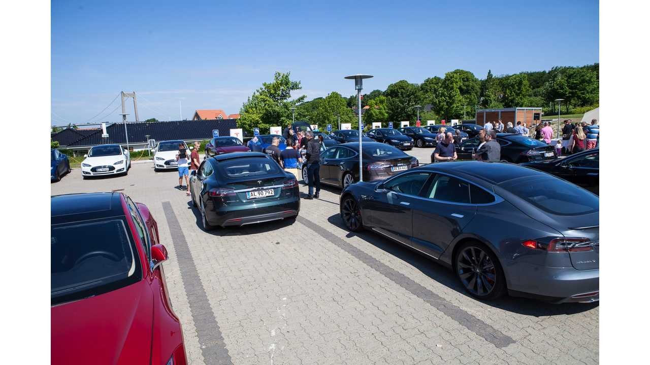 Two Tesla Superchargers Now Online In Denmark