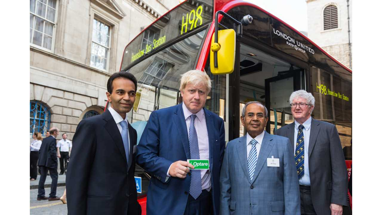 4 Optare Electric Buses Enter Service In London
