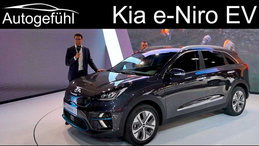 Watch Kia e-Niro Get The Autogefühl Treatment At Paris Debut