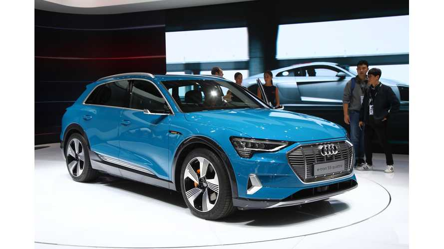 Audi e-tron 55 quattro: Videos Galore From Paris Motor Show