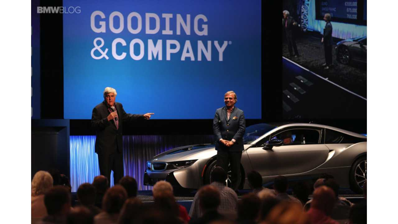 BMW i8 Concours d'Elegance Edition Sells For $825,000 At Auction