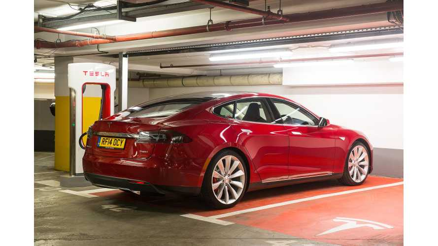 Tesla Expands Supercharger Network In UK