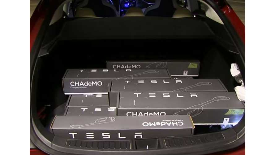 Bjorn Uses Model S Referral Money To Buy 15 CHAdeMO Adapters, Will Lend Them Out For Free - Video