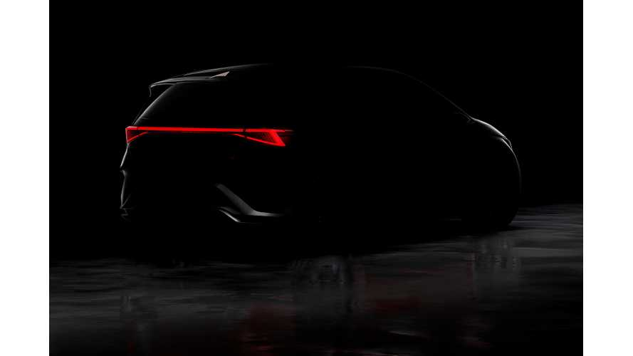 Seat Reveals First Teaser Of All Electric Crossover