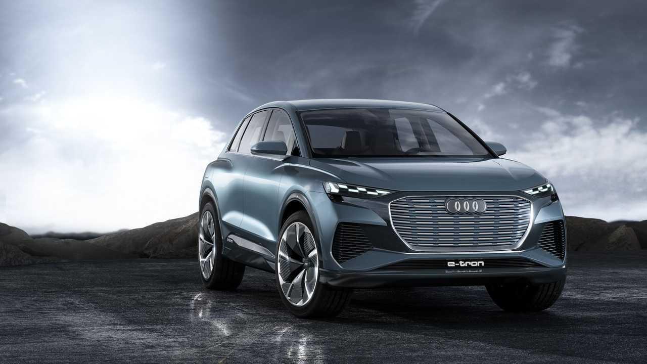 Audi Q4 E-Tron Konsept
