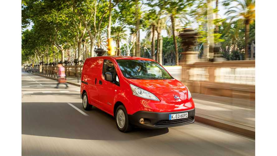 Double Greenfleet Win For All-electric Nissan e-NV200