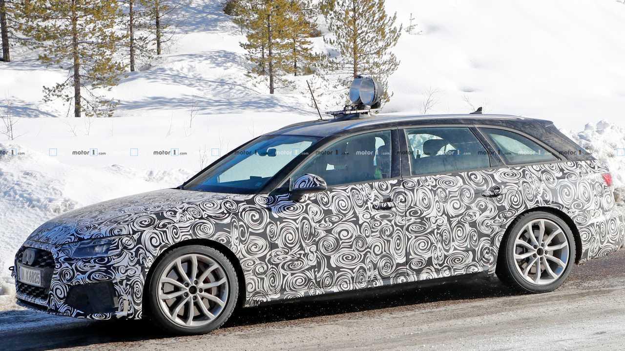 Audi S4 Avant photo espion