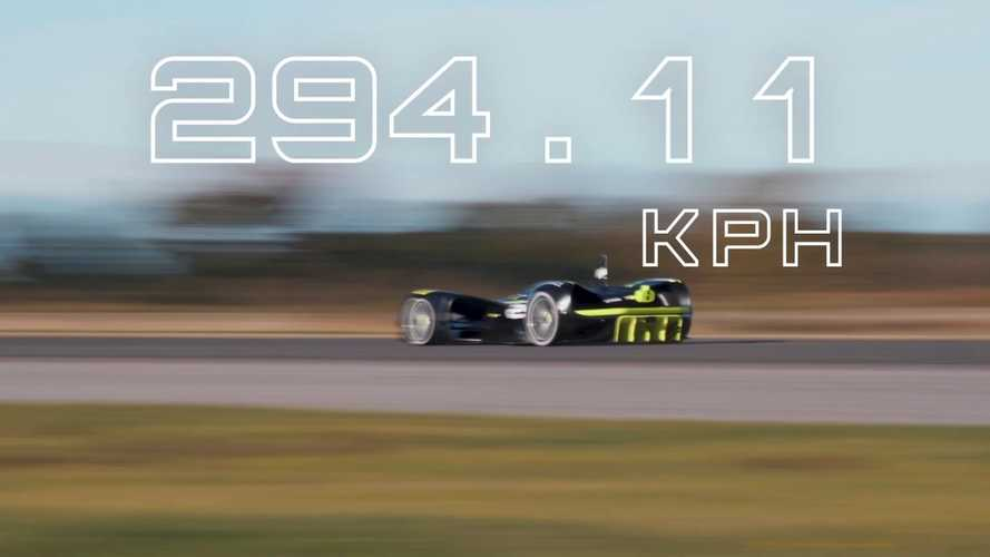Roborace Tests Top Speed Of Autonomous Electric Race Car: Video