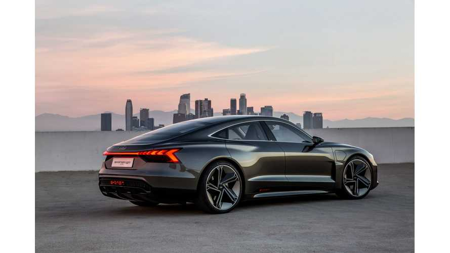 Audi e-tron GT Concept Test Drives In LA: Videos