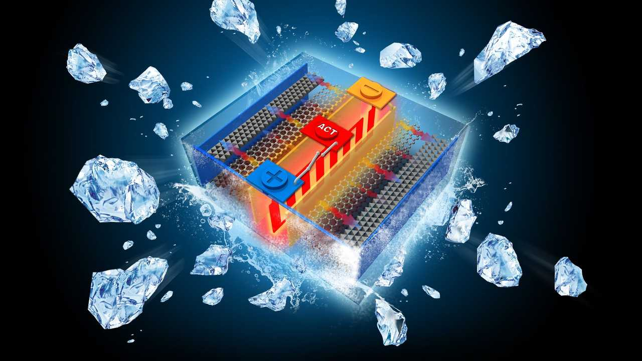 Self-Heating Lithium-Ion Battery Overcomes Range Loss Issues In Cold Temperatures