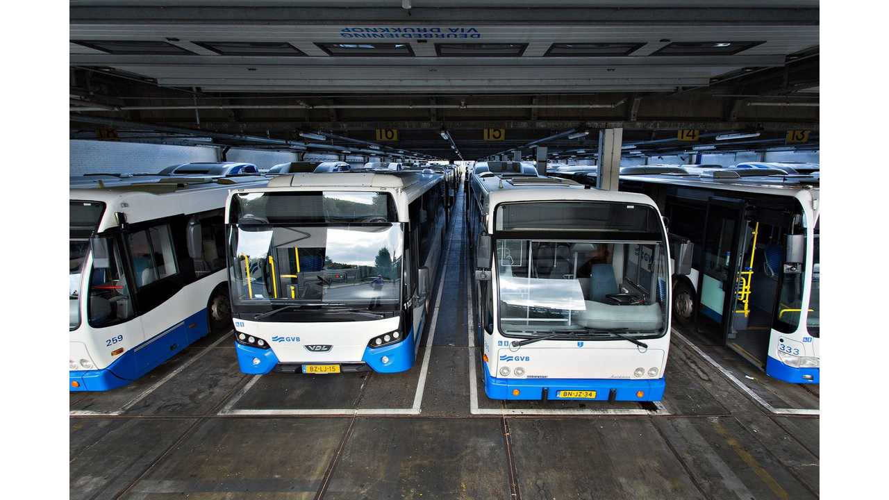 Amsterdam Intends To Entirely Switch From Diesel To Electric Buses