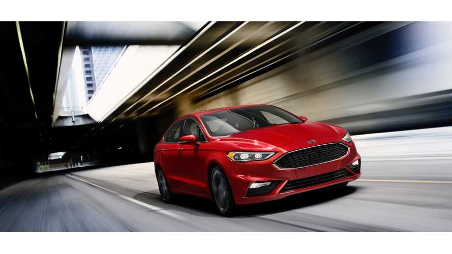 2017 Ford Fusion Energi Gets New Look, Better MPG, Improved Electric Driving