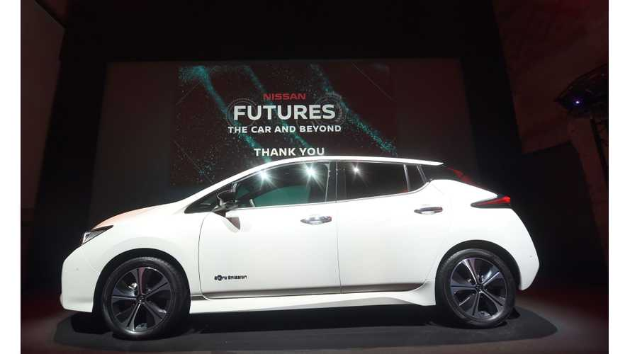 Q & A With New Nissan LEAF Chief Engineer - Video