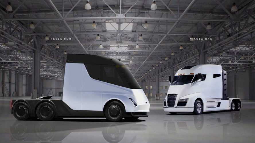 Nikola Sues Tesla Over Electric Semi