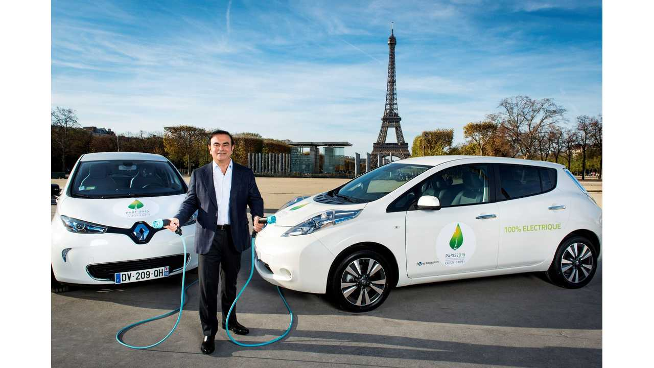 Renault-Nissan Alliance Passes 350,000 EVs Sold All-Time