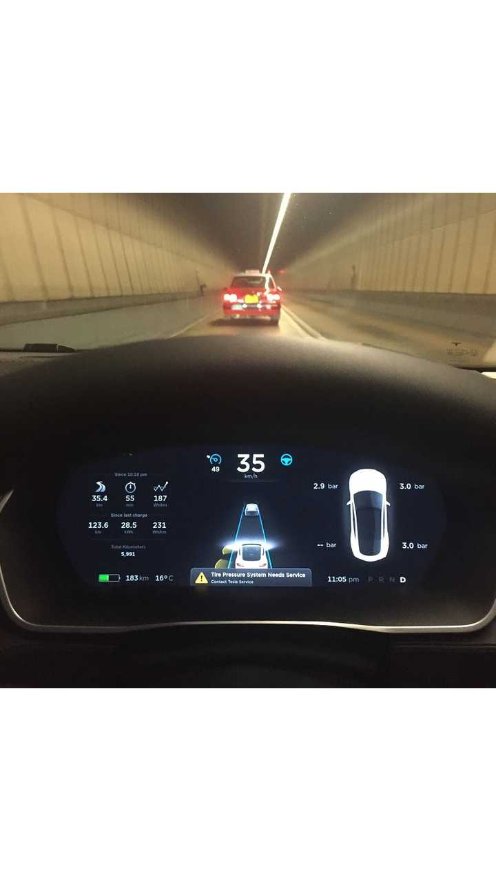 Autopilot In Trickier Locations Like The Aberdeen Tunnel Will Now Gain Knowledge From The Entire Tesla Fleet's Historical Use Of The Location