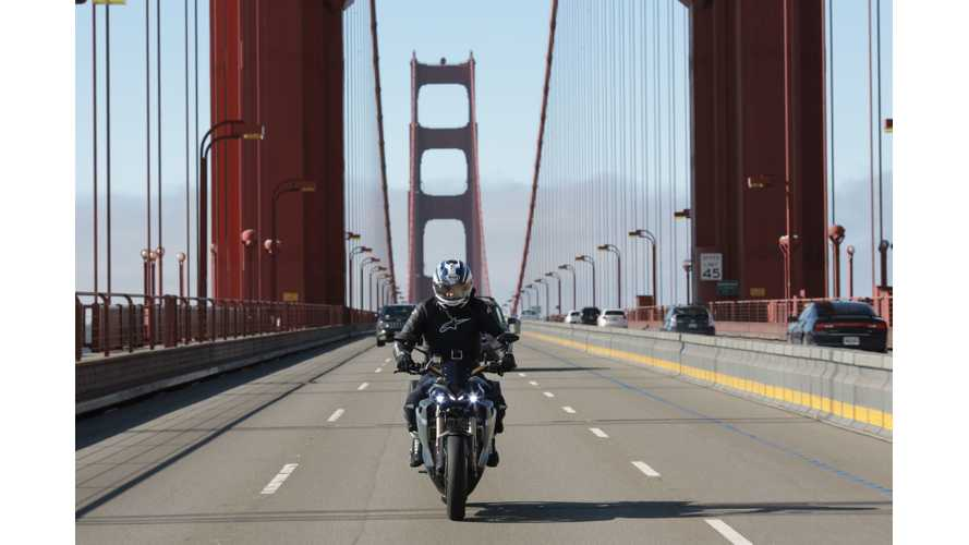 Energica Demonstrates Eva In California; First Store To Be Launched In San Francisco