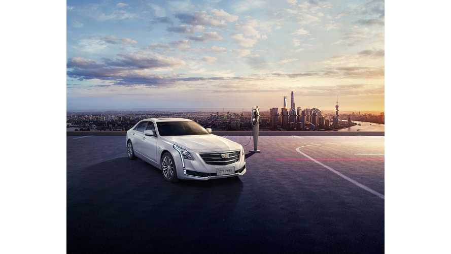 Cadillac CT6 Plug-In Launches In China, Arrives In US And Canada Soon...For Much Less