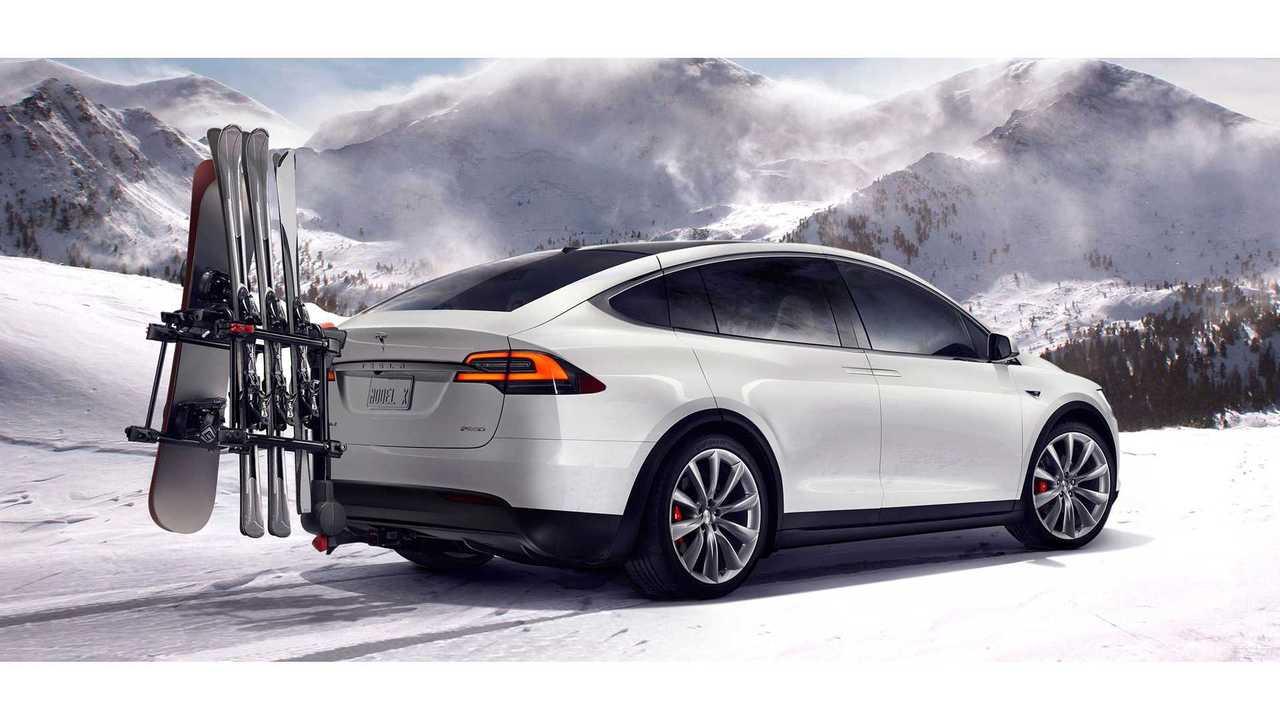 Installing A Trailer Hitch On A Tesla Model X - Video